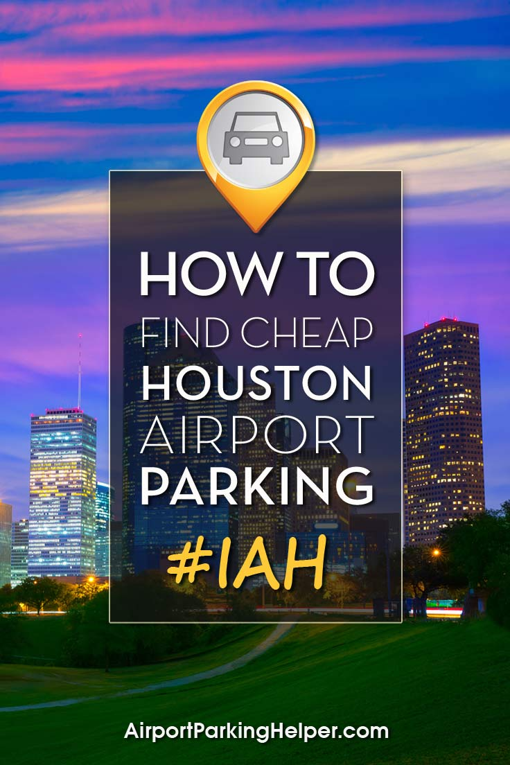 IAH Houston airport parking image