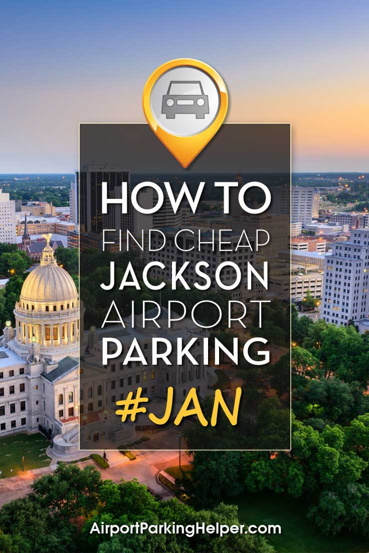 Jackson JAN airport parking image