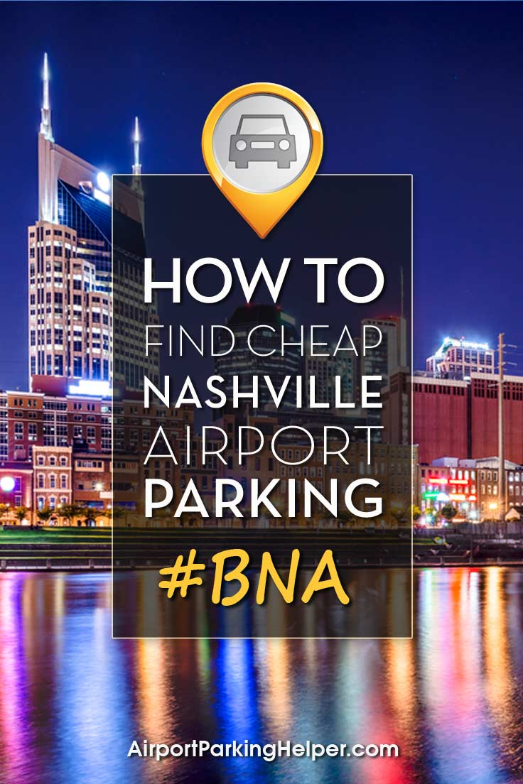 BNA Nashville airport parking image