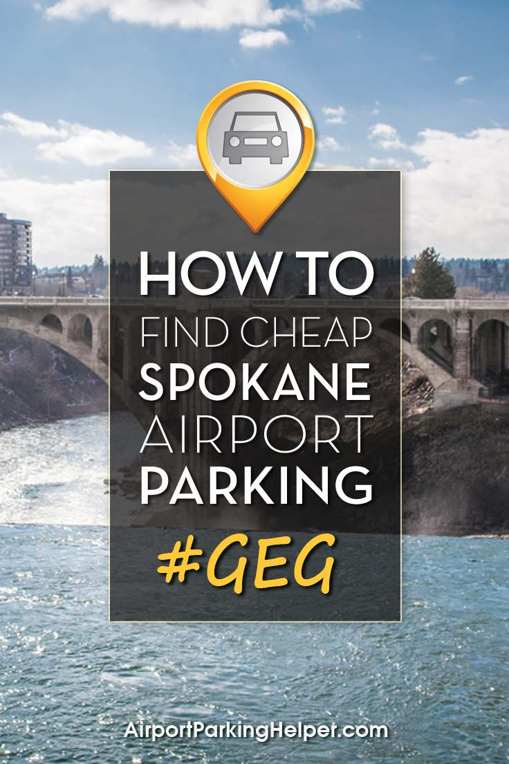 GEG Spokane airport parking image