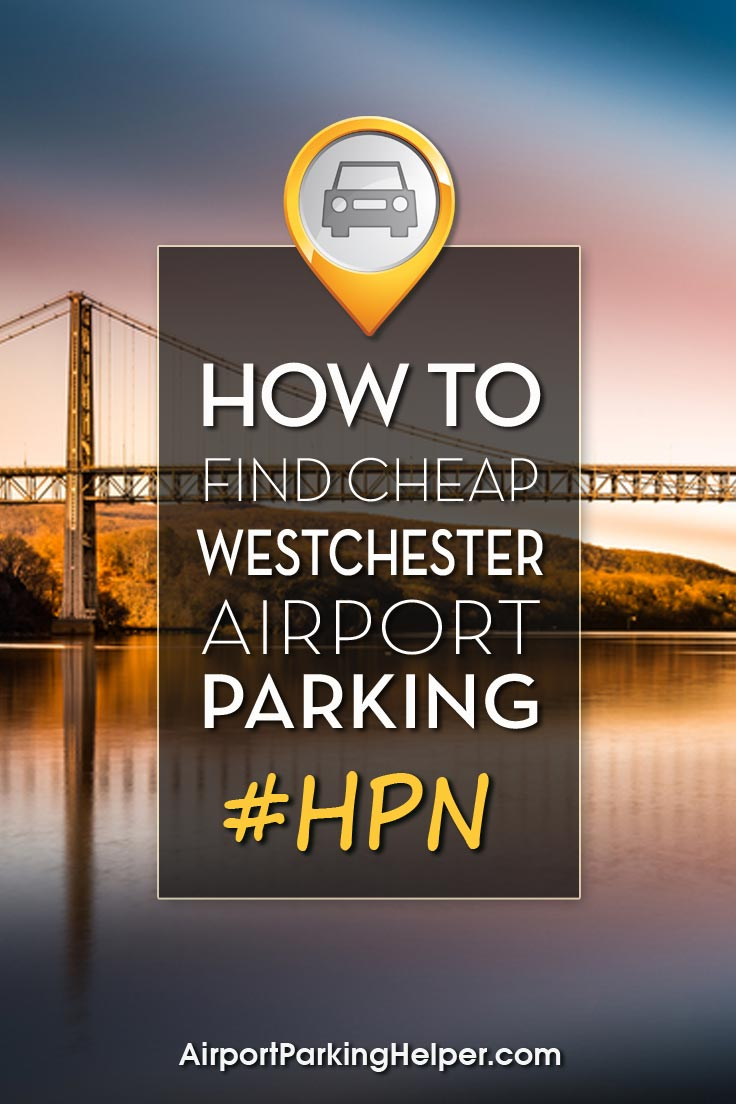 Westchester County HPN airport parking image
