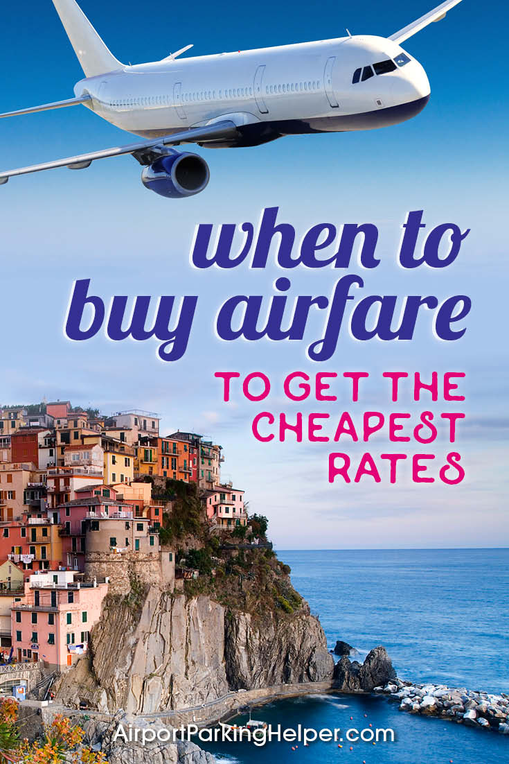 Best time to buy airfare online