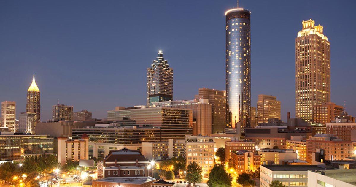 image of downtown Atlanta skyline