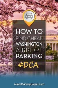 DCA Reagan airport parking