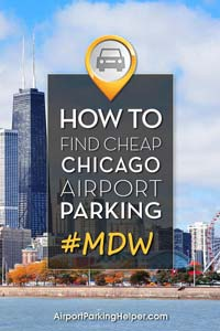 MDW Chicago Midway airport parking image