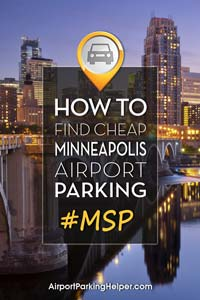 MSP Minneapolis airport parking