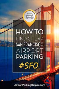 SFO San Francisco airport parking