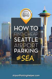 SEA Seattle airport parking