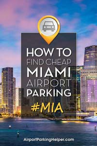 MIA Miami airport parking