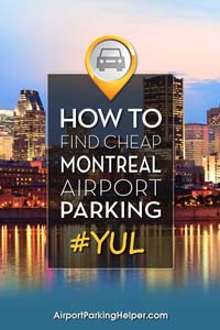 YUL Montreal airport parking