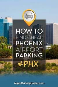 PHX Phoenix airport parking