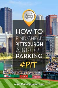 Pittsburgh Airport Parking Find Your Best Pit Airport