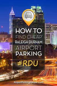 RDU Raleigh Durham airport parking